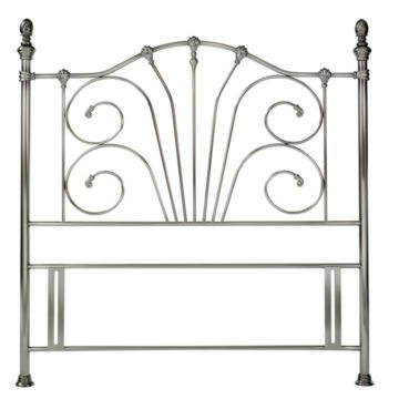 Antique Nickel Rebecca Headboard