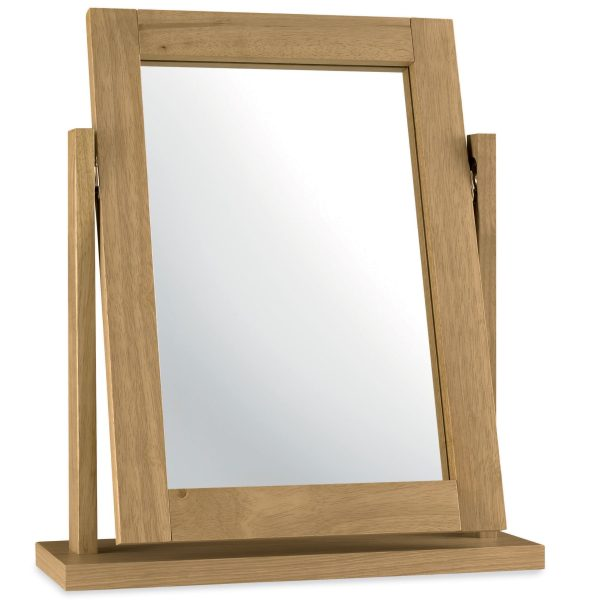 Atlanta Oak Vanity Mirror