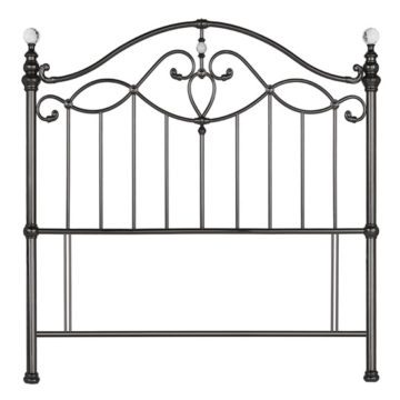 Black Nickel Elena Headboard