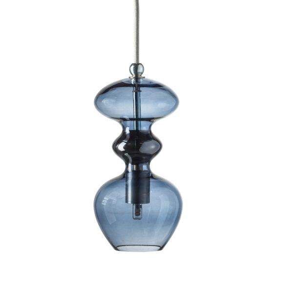 Futura Pendant Lamp, Deep Blue, 24cmH