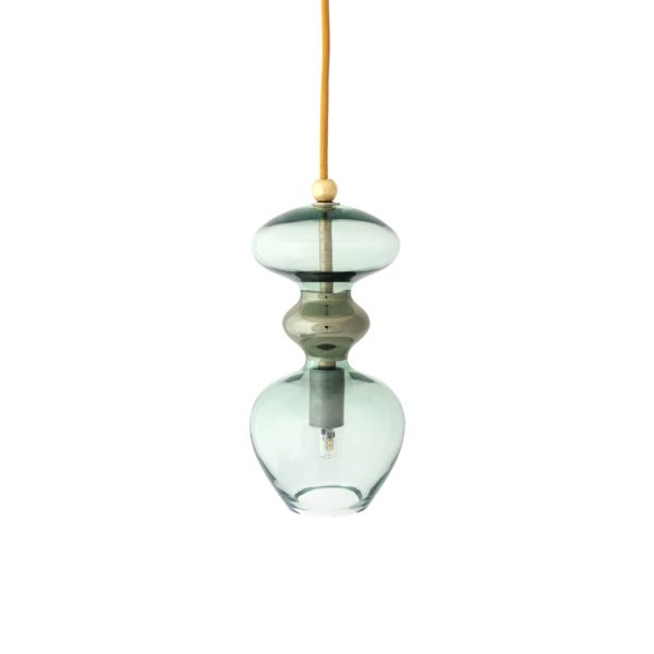 Futura Pendant Lamp, Forest Green, 24cmHFutura Pendant Lamp, Forest Green, 24cmH