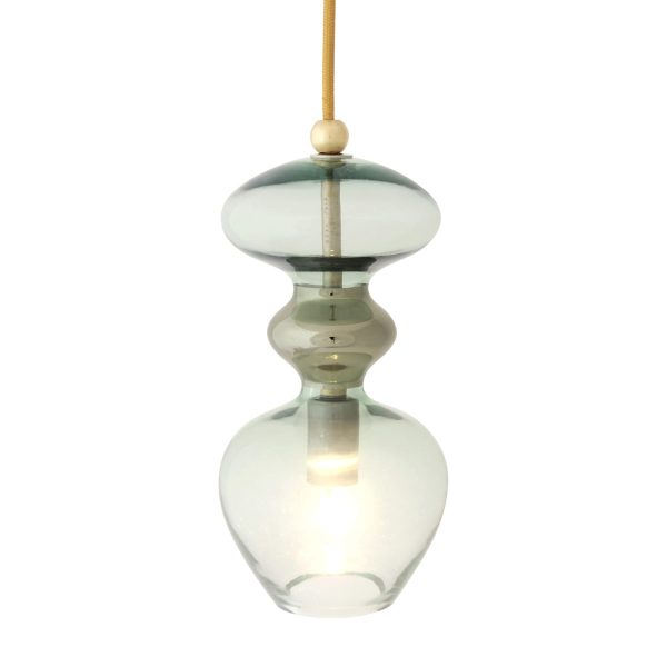Futura Pendant Lamp, Forest Green, 24cmH