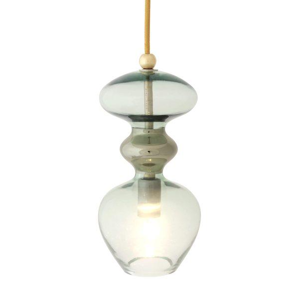 Futura Pendant Lamp, Forest Green, 24cmH