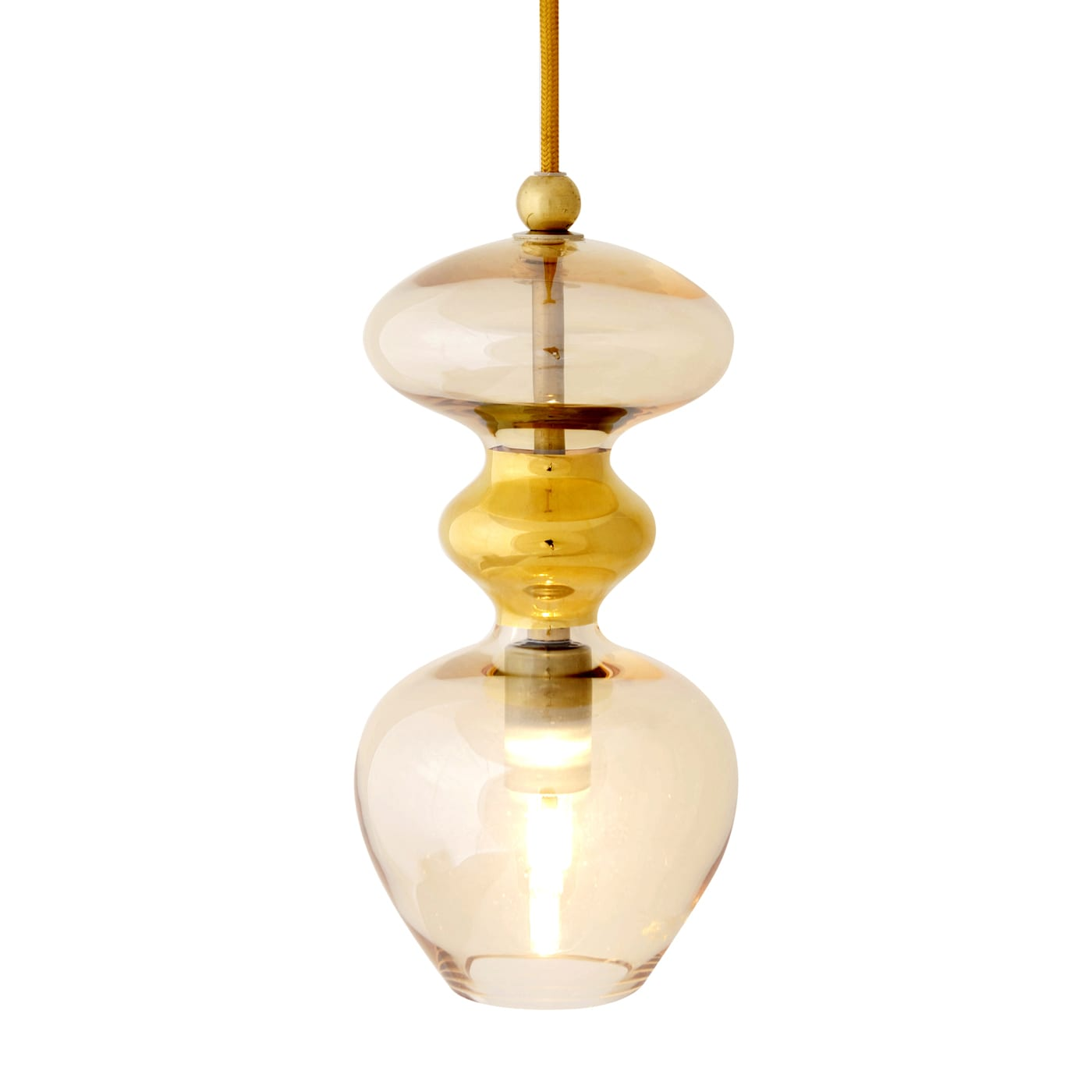 Futura Pendant Lamp, Smokey Grey, 24cmH