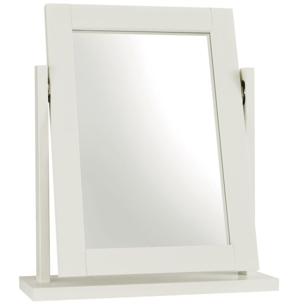 White Atlanta Vanity Mirror