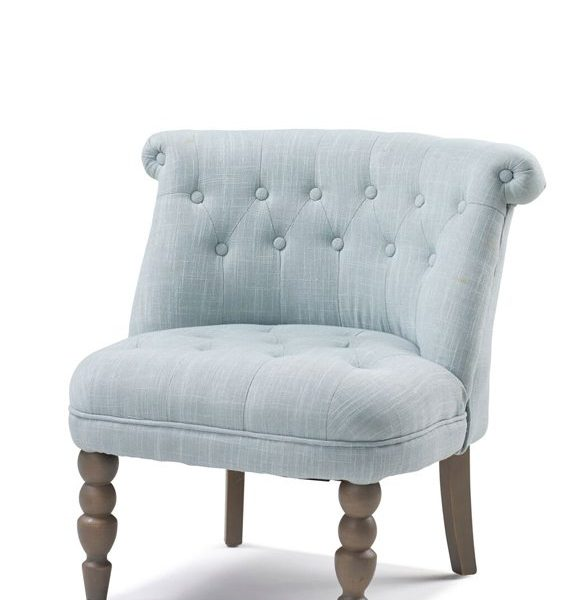 CARA FABRIC CHAIR Duck Egg