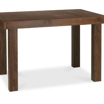 Akita Walnut 4-6 End Extension Dining Table