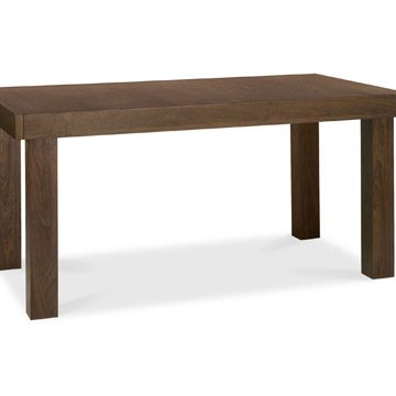 Akita Walnut 6-8 End Extension Dining Table
