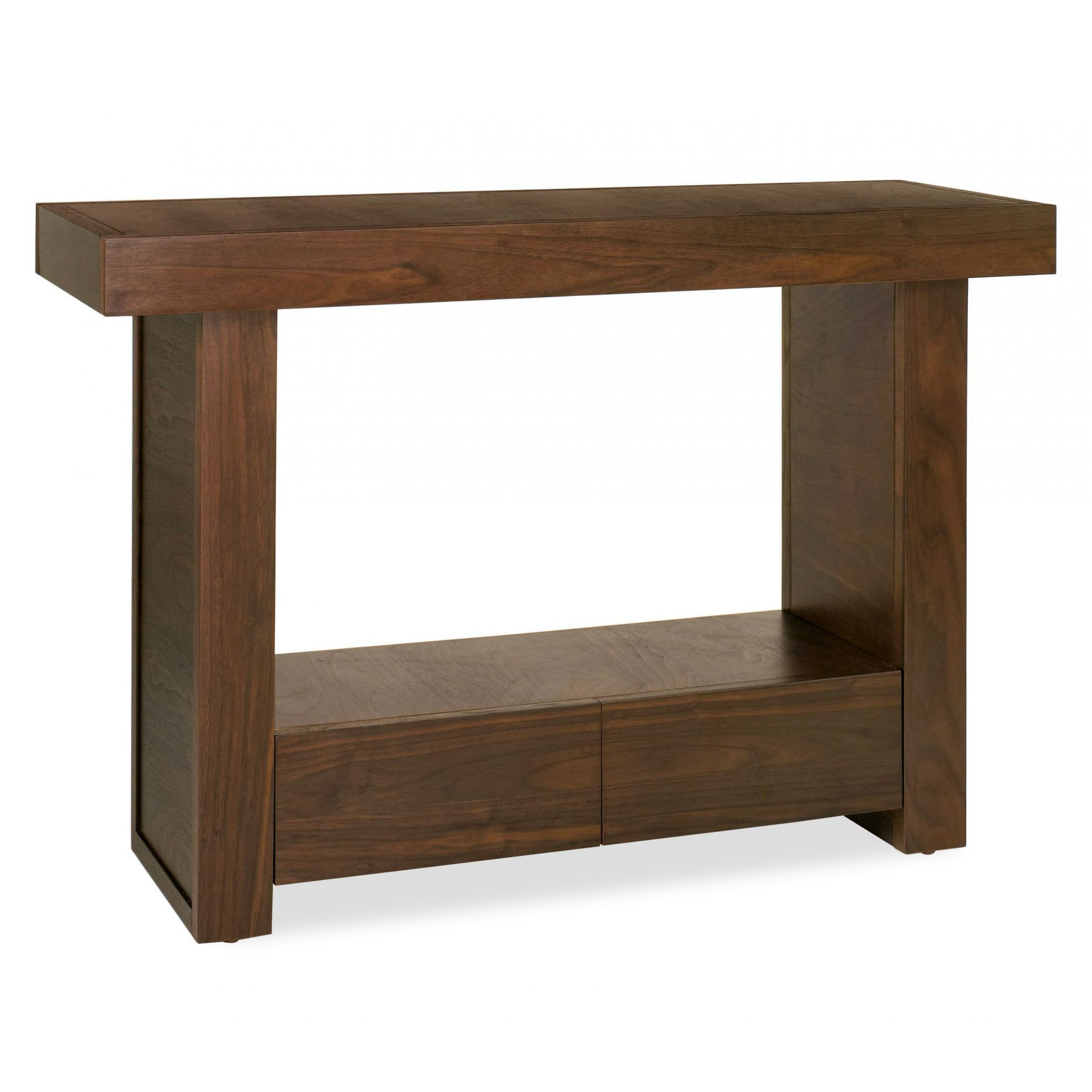 Akita Walnut Console Table