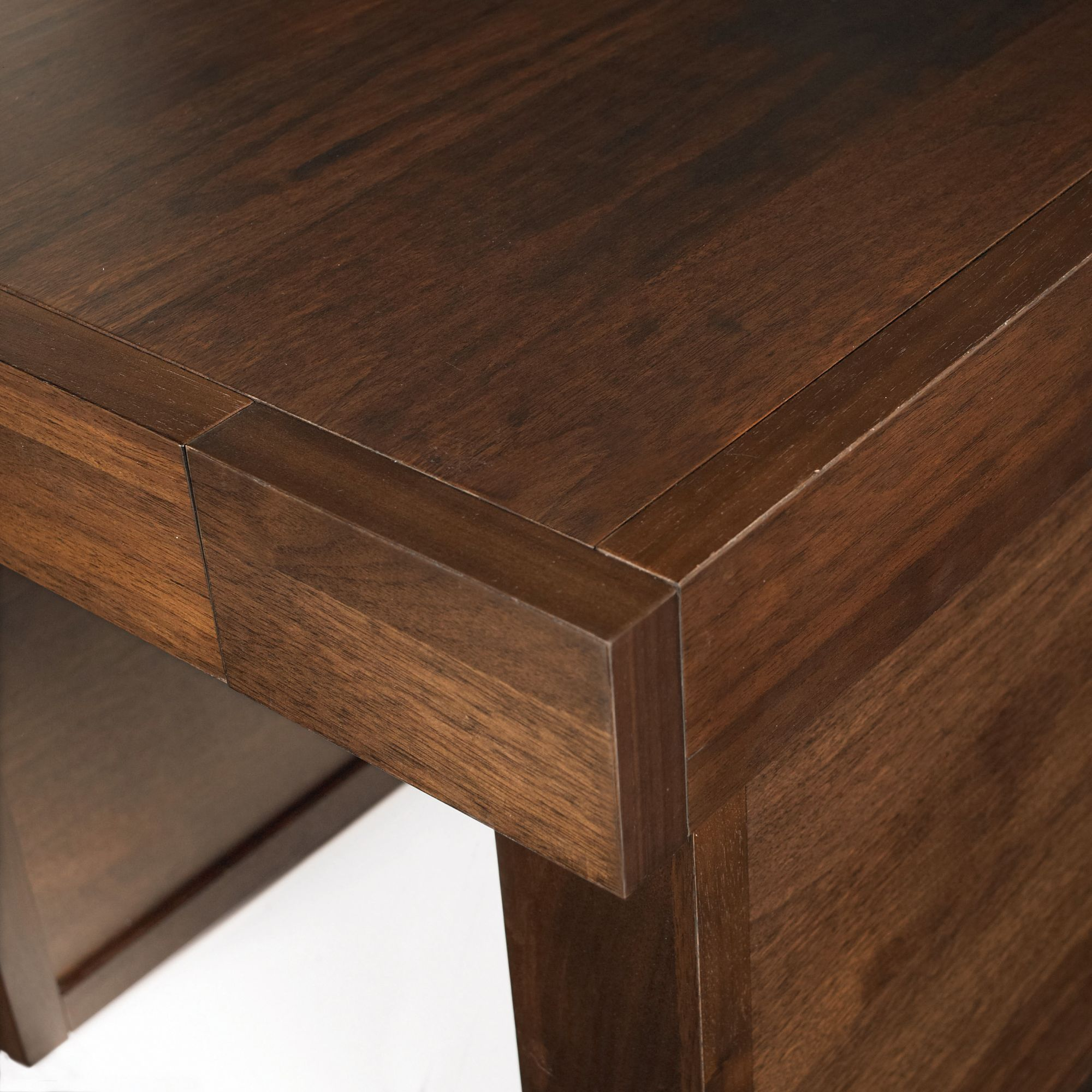 Akita Walnut Lamp Table