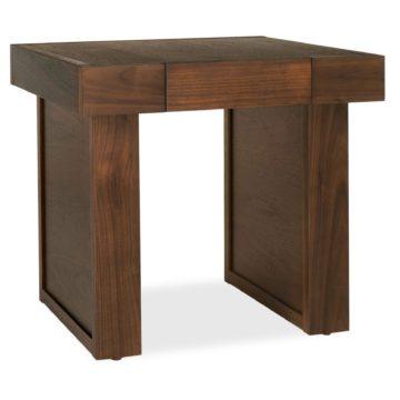 Akita Walnut Lamp Table