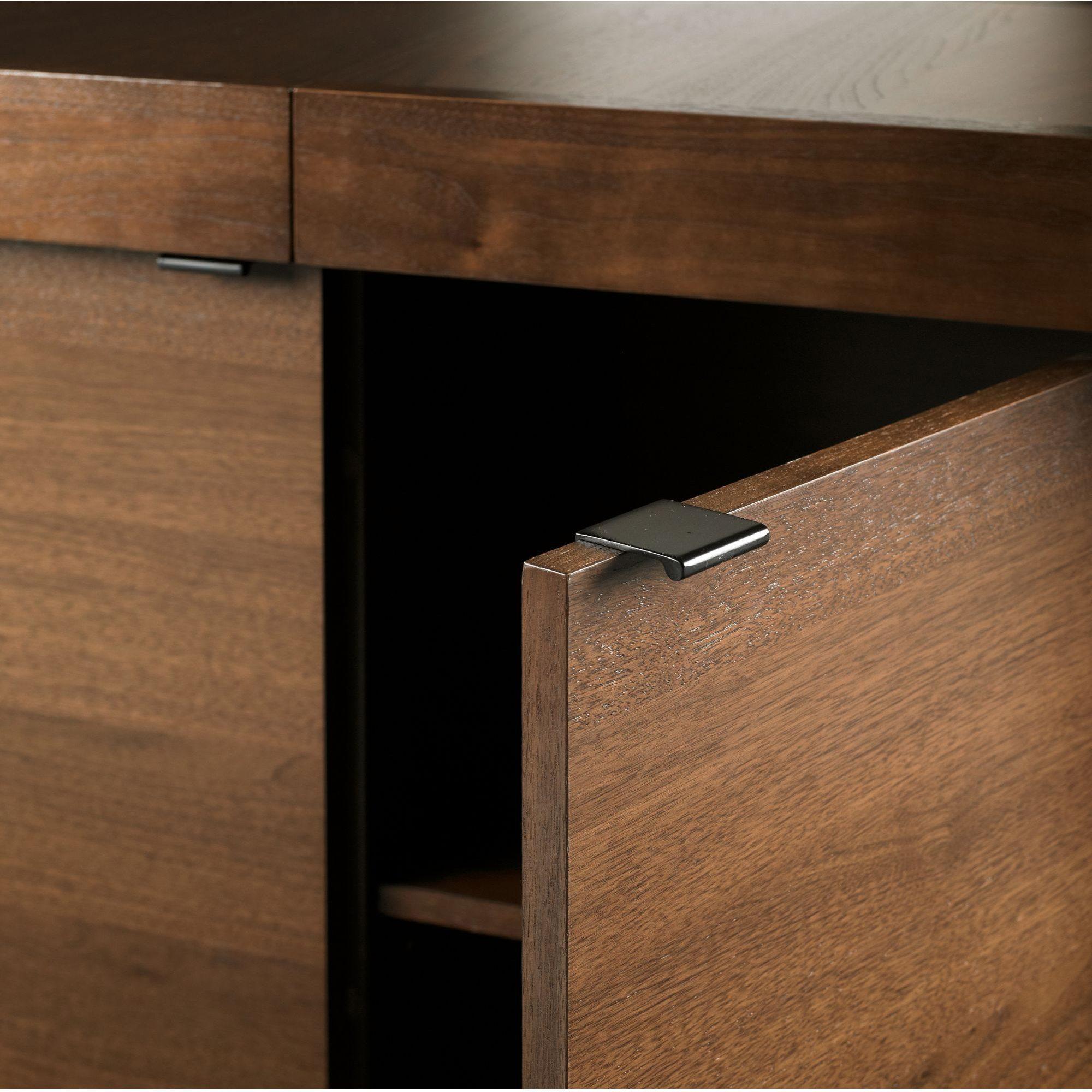 akita walnut wide sideboard. Black Bedroom Furniture Sets. Home Design Ideas