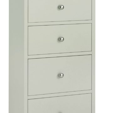 Ashby Cotton 5 Drawer Tall Chest