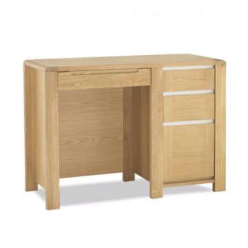 Casa Oak Desk with Top Unit