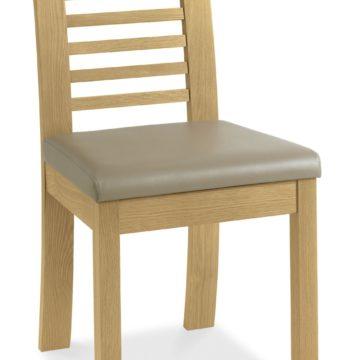 Casa Oak Slatted Chair PAIR