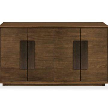 City Walnut Wide Sideboard