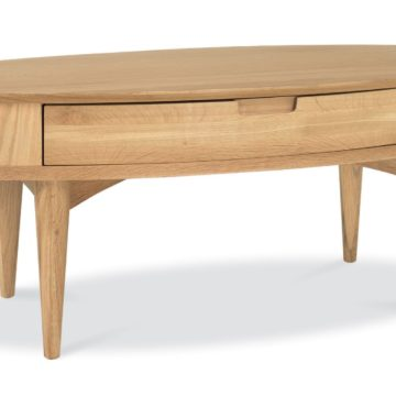 Oslo Oak Coffee Table with Drawer