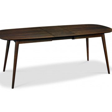 Oslo Walnut 6-8 Extension Table
