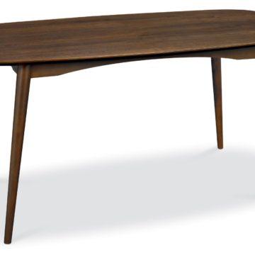 Oslo Walnut 6 Seater Dining Table