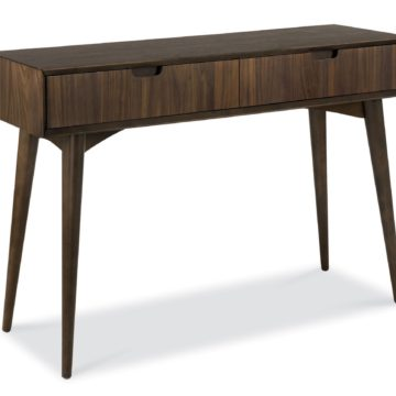 Oslo Walnut Console Table with Drawer