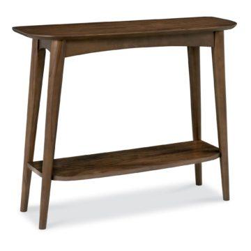 Oslo Walnut Console Table with Shelf