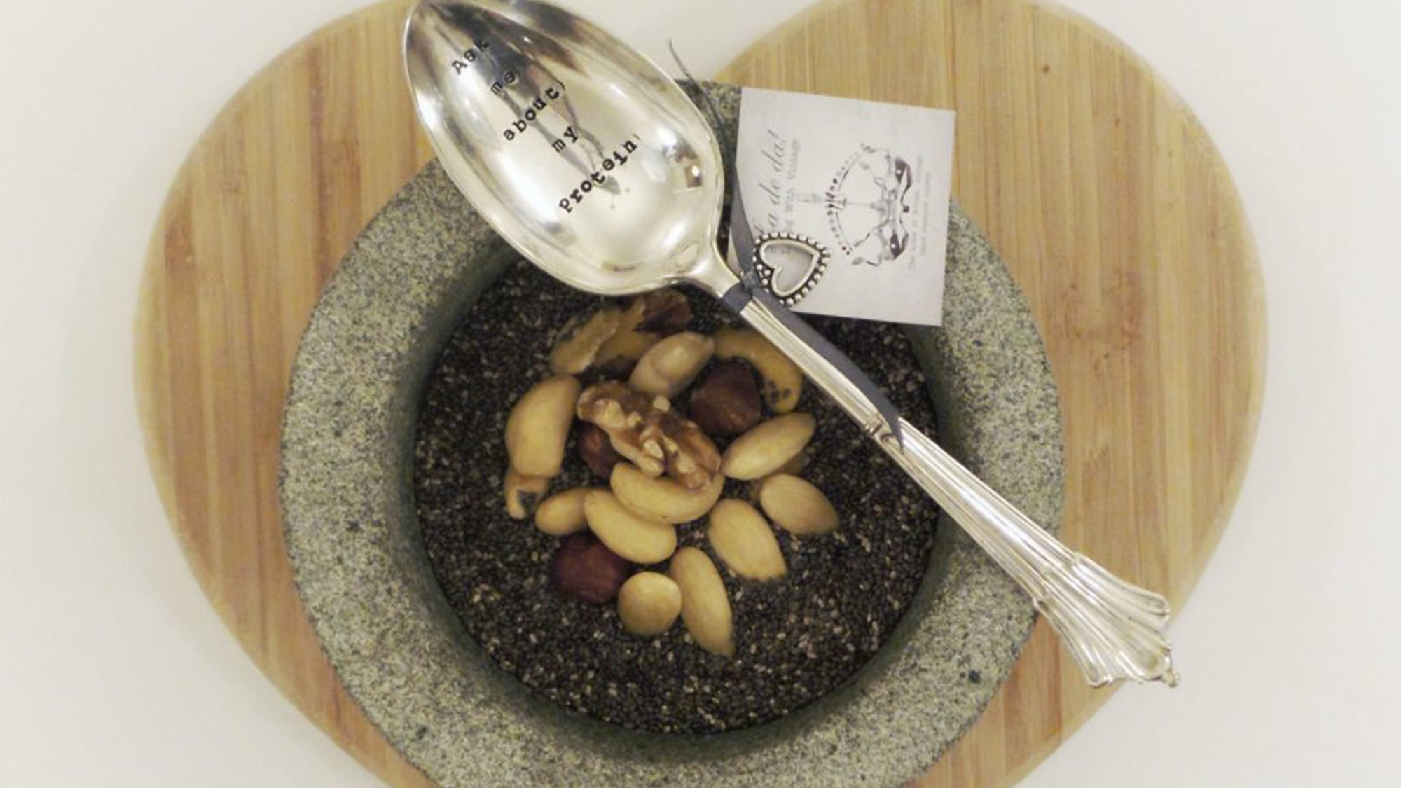 Table Spoon – 'Ask me about my protein'