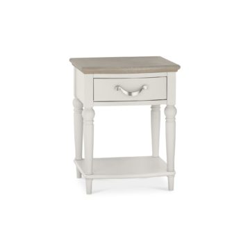 Montreux Washed Oak & Soft Grey 1 Drawer Nightstand