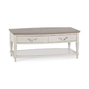 Montreux Washed Oak & Soft Grey Coffee Table