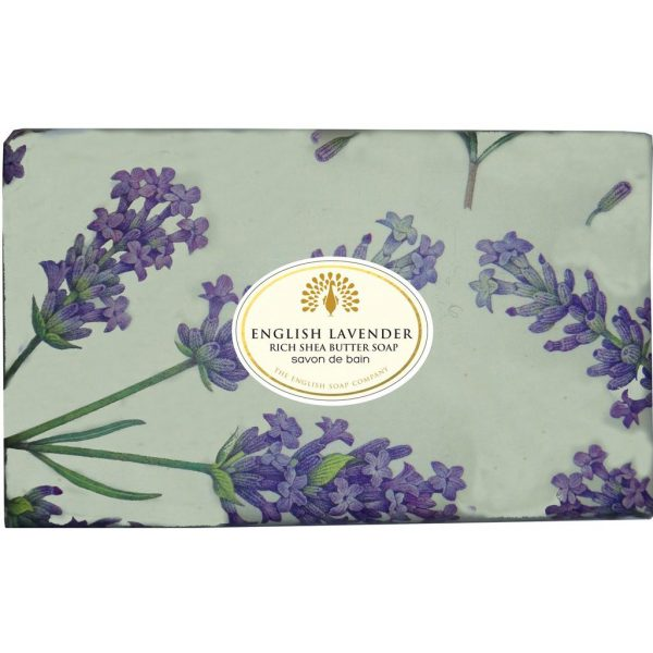 English Lavender Vintage Wrapped Soap