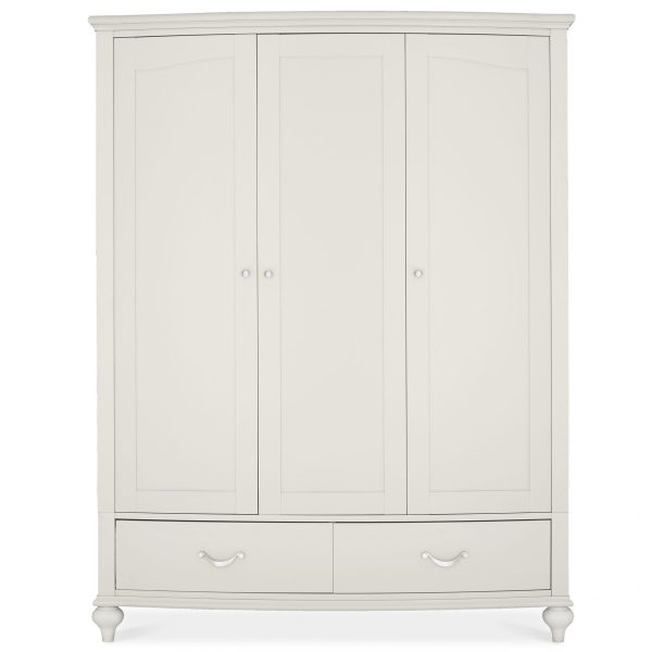 Montreux Soft Grey Triple Wardrobe