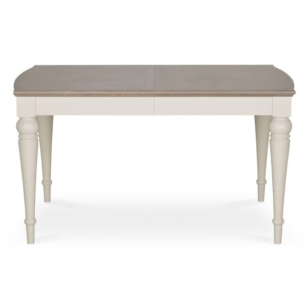 Montreux Washed Oak & Soft Grey 4-6 Extension Table
