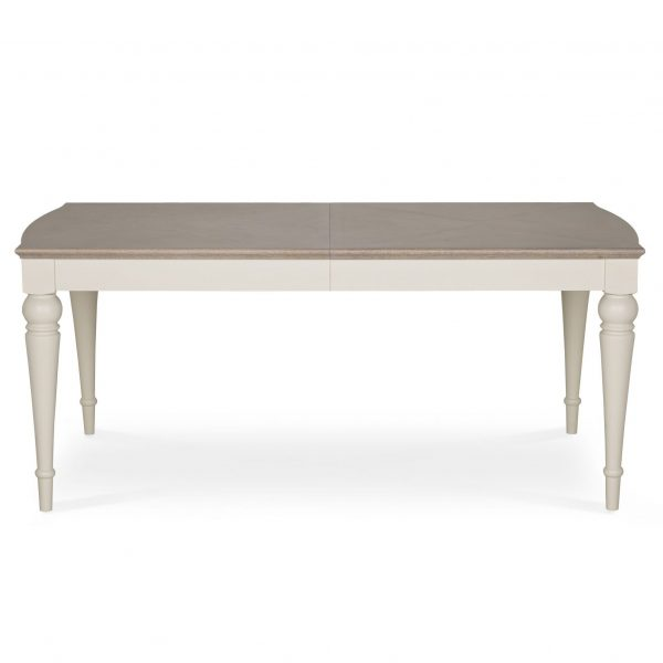 Montreux Washed Oak & Soft Grey 6-8 Extension Table
