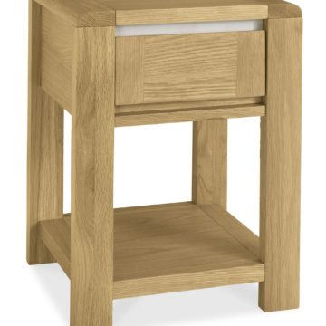 Casa Oak Lamp Table