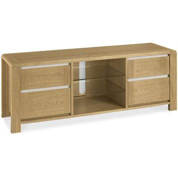 Casa Oak Wide Entertainment Unit