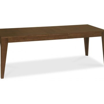 City Walnut 6-8 Seater Extension Dining Table