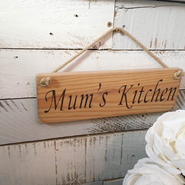 Wall Plaque - Mum's Kitchen