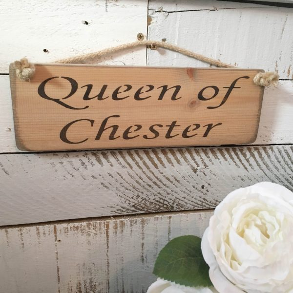 Wall Plaque - Queen of Chester