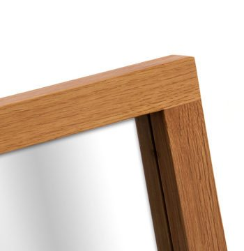 Santana Blonde Oak Dressing Table Mirror