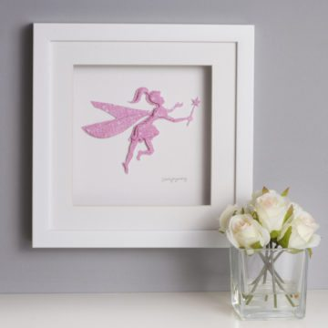 'Fairy Framed Picture' Child Collection