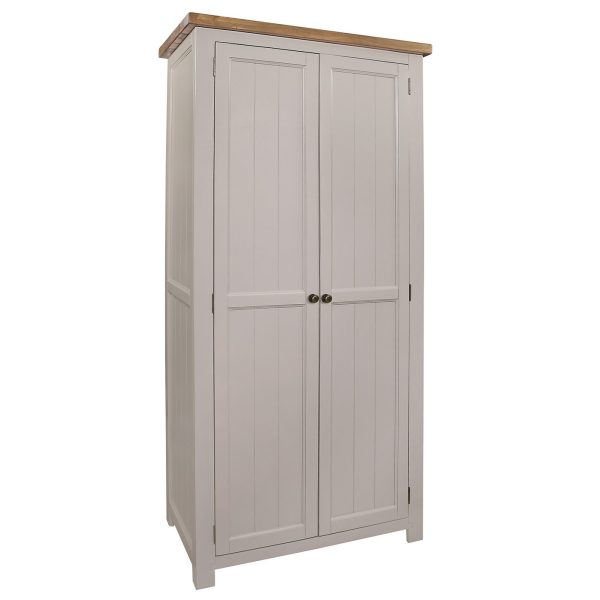 Gresford Grey 2 Door Wardrobe