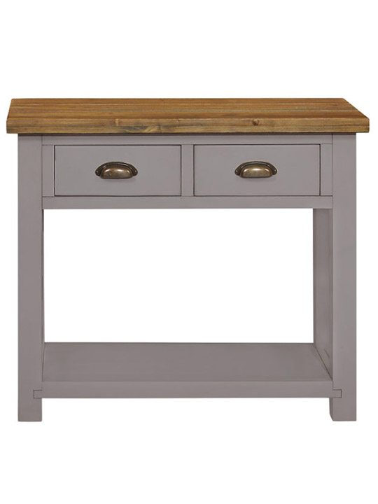 Gresford grey drawer console table k d