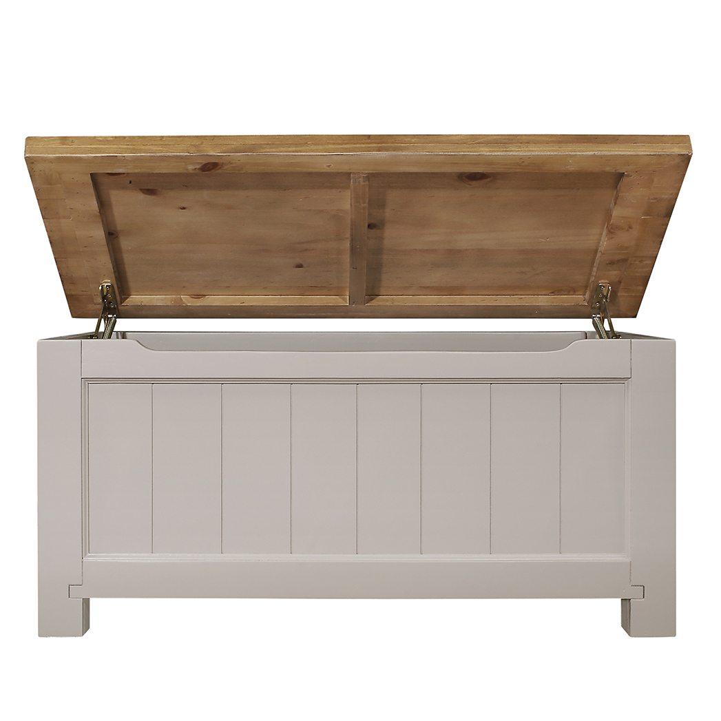 Gresford Grey Blanket Box