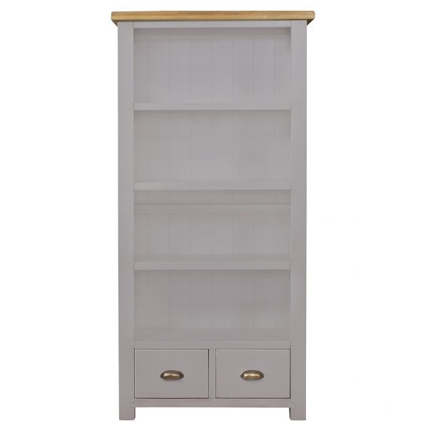 Gresford Grey Bookcase 900 x 1800