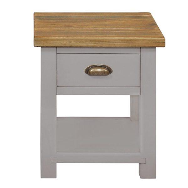 Gresford Grey Lamp Table