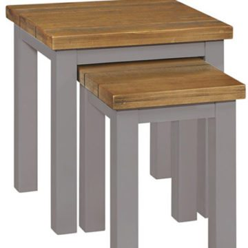Gresford Grey Nest of 2 Tables