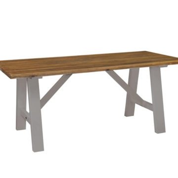 Gresford Grey Trestle Table 1800 x 900