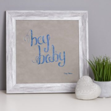 'Hey Baby' Metallic & Children's Collection