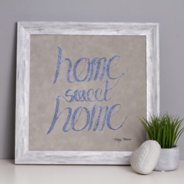 'Home Sweet Home' Metallic Collection