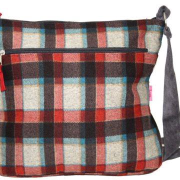 Messenger StRed Check Messenger Style Bagyle Bag