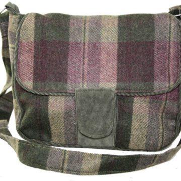 Classic Tartan Saddle Bag